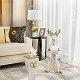 KK Zachary Raumdekoration Ornament Deer Kreative Moderner Minimalistisches Wohnzimmer Fussboden Badezimmer Practical Handwerk Heim 33 * 20 * 78cm (Color : Yellow)