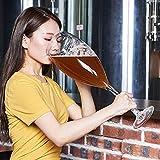 XiYou Riesiges übergroßes Rotweinglas Becherglas Extra großes 3000 ml Fassbierglas Großes Rotweinglas Große Kapazität