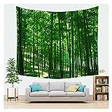 WFSH Tapestry Natürliche Waldlandschaft Wandteppich Wand Hanging Schlafzimmer Wohnzimmer Tapisserie Schlafsaal Wanddekoration Tapisserie (Color : C, Size : 70 * 100cm)