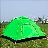 Automatisches Zelt Outdoor Camping Faltbares Automatisches Zelt 2 Einzelne Doppeltür 3-4 Strand Einfache Schnellöffnung Doppel-3-4 PersonenZwei Türen
