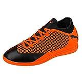 Puma Unisex Future 2.4 IT Fußballschuhe, Schwarz Black-Shocking Orange 02, 38 EU