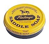 Fiebing's 055012 Sattelseife, 100 ml. -Gelb – reinigt, erweicht und konserviert Leder, 3.5 oz