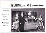 Werbekarte: Ein Gruß aus der Kalanag-Revue
