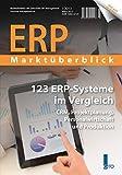 ERP Marktüberblick 1/2013: 123 ERP-Systeme im Verg