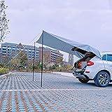 JTYX Auto Markisenzelt Sonnenschutz Wasserdicht Auto Baldachin Wohnmobil Anhänger Zelt Heckklappe Markisenzelt Dach Für SUV, MPV, Schrägheck, Minivan, Camping, Outdoor