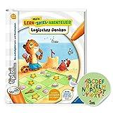Ravensburger tiptoi ® Buch | Logisches Denken - Mein Lern-Spiel-Abenteuer + ABC Buchstaben Lernen Sticker
