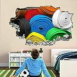 Wandtattoo Tätowierungen Bunte Karate Gürtel Wandkunst Aufkleber Wandtattoo Kinderzimmer Home Decor EJ10