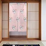 Feinilin Marie Cat Vorhang 86,4 x 142,2 cm Mode High-End Küche Wohnzimmer Dekoration Wärmedämmung Druck Privatsphäre Geschlossenes Licht