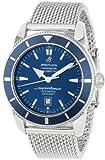 Breitling Herren-Armbanduhr A1732016/C734SS, blaues Zifferblatt, Superocean Heritage