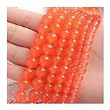 YCSC Naturstein Spacer Perlen Runde Rose Rot Tiger Eye Lose Perlen für Handarbeiten Schmuck 15'6/8 / 10mm (Farbe : 27, Item Diameter : 8mm (Approx 45pcs))