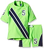 Zunblock Baby UV 50 Plus Sets Stars and Stripes, Lime/Navy, 74/80