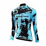 Uglyfrog Frühling Jersey Bequem Fahrradtrikot Polyester Gemütlich Langarm Shirt Damen Breathable Radfahren Fahrrad Lange Hülsen Fahrrad Hemd Männer Langarm Fahrradbekleidung Radfahren