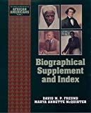 Biographical Supplement and Index (The Young Oxford History of African Americans Book 11) (English Edition)