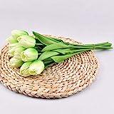 Mini PU Tulpe Simulation Blume Hochzeit Hand Halten Blume Fake Blume Home Dekoration Fotografie CrossBorder Kunstblume Großhandel