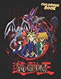 Yu-Gi-Oh Coloring Book: Amazing illustrations For Those Who Love Yu-gi-oh! With Incredible Images To Color And Challenge Creativity - Movie Characters And Scenes