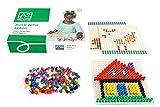 Toys for Life | bauen mit Perlen | Lehrmaterialien Technologie & Technik | Motorische Fähigkeiten | Ab 36 Monate | Bis 84 Monate, farbsk