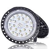 LED UFO Industrielampe, UFO LED, 6000K-6500K Kaltweiß, 120° Abstrahlwinkel, IP65 Wasserdichte, SMD2835 für Garage Factory Workshop Gym Fabrikhallen (Kaltweiß, 100W)