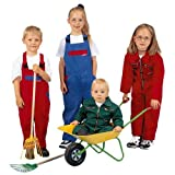 Kinderlatzhose Kinderarbeitshose Spielhose Kinderhose - 3 Farben wählbar 146,Grün