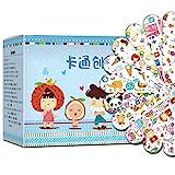 Tianbi Pflaster, 120 Stück Cartoon-Bandagen Klebebandagen Wundpflaster Erste Hilfe Hämostase Band Hilfe Aufkleber für Kinder Kinder