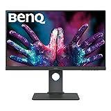 BenQ PD2700U 68,58 cm (27 Zoll) Monitor (LED, 4K UHD, 3840 X 2160 Pixel, 100% sRGB und Rec.709, HDR 10) schwarz