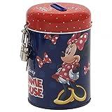 Minnie Mouse Spardose aus Metall mit Schloss, Geschenkidee