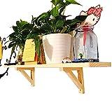 Rustikales Schweberegal,Wandregal Für Mehr Platz,Moderne Dekorative Ausstellungsregale, Wohnzimmer Flur Küche Badezimmer