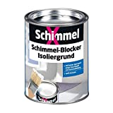 Pufas Schimmelblocker SchimmelX Isoliergrund, Weiß Deckend, 750Ml