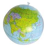 ST4U Aufblasbare Weltkugel Der Erde Karte Geografie-Lehrer-Hilfe-Kugel-Spielzeug-Geschenk