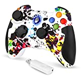 EasySMX PC Controller, 2.4G Wireless PS3 Gamepad, Dual Vibration für PS3/PC/Android TV-Box