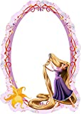 Kinder Spiegel Kinderzimmer - Rapunzel 15cm x 21
