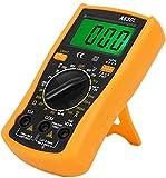 Elektro-Lötkolben, 60 W, elektrischer Lötkolben mit Multimeter, einstellbare Temperatur 200 – 450 °C, Zubehör für Reparaturmaschine 220 V (EU-Stecker)