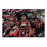 Flatbush Zombies Rap Hip Hop Musikgruppe Kunstplakat Leinwand Malerei Wohnkultur - Mehrere Größenoptionen (gerahmt / ungerahmt)