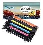 Bergsan Toner Kompatibel mit Samsung CLT-P404C Ersatz für Samsung Xpress C430 C430W C480 C480W C480FN C480FW Xpress SL-C430 SL-C430W SL-C480 SL-C480W SL-C480FN SL-C480FW