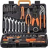 WMC TOOLS Werkzeug Set 600 teilig Werkzeug Haushalt Werkzeugkoffer für Heimwerker und Profi mit Ring Maulschlüssel Set, Bit Set, Steckschlüsselsatz, Schraubendrehern set schraubenschlüssel