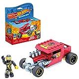 Mega GVM29 - Mega Construx + Hot Wheels Bone Shaker Fahrzeug zum zusammenbauen, Spielzeug Bauset, für Kinder ab 5 Jahren