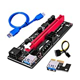PCI-E-Grafikkarte Kabel Riser-Karte USB 3.0 Adapterkabel PCI-E 1X bis 16X Verlängerungskabel kompatibel mit PCI-E-Blau