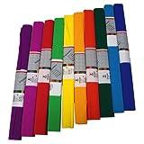 Staufen 617003 - Krepppapier 10 Rollen 50 x 250 cm,