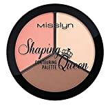 Misslyn Shaping Queen Contouring Palette, 108 g