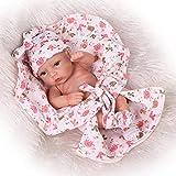 yunge Spielzeugpuppe Reborn Baby Puppen echt weiches silikon Vinyl 11 Zoll 28 cm Reborn Toddler Baby Puppe realistisch lebensecht Aussehen neugeborenen Puppen Baby mädchen Spielzeug mädchen-Zwilling