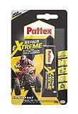 Pattex Repair Extreme, nicht-schrumpfender und flexibler Alleskleber, temperaturbeständiger Reparaturkleber, starker Kleber für innen und außen, 1x20g Tube