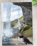 Reisetagebuch Island zum Selberschreiben | Tagebuch mit viel Abwechslung, spannenden Aufgaben, tollen Fotos uvm. | gestalte deinen individuellen Reiseführer für Skandinavien | Geschenkidee | C