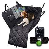 DoggyFy – Auto-Rücksitzabdeckung - Autositzbezug für Hunde – wasserdicht, Kratzfest, rutschfest, haltbares und hoch-qualitatives Material