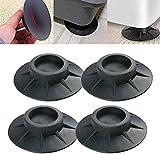 4PCS Anti Vibration Washing Machine Support, Shock and Noise Cancelling Washing Machine Support, Washer And Dryer Anti-Vibration Foot Pads