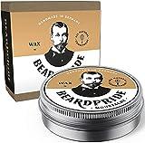 BEARDPRIDE Bartwachs Männer - Traditional - Das Original Bart Wachs zum Formen des Moustaches - Beard Wax auf Basis von Bienenwachs - Bartwichse - Geschenk für Männer - 55g