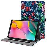 Fintie Hülle für Samsung Galaxy Tab A 10,1 2019 - Multi-Winkel Betrachtung Kunstleder Schutzhülle mit Dokumentschlitze für Samsung Tab A 10.1 Zoll SM-T510/T515 2019 Tablet, Dschung