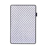 Kompaktes und Robustes Blocker-Kartenetui Aluminium-Schutz-Kreditkartenetui (Silber)