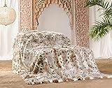 Wohnen & Accessoire Felldecke aus Webpelz Schneeleopard 150x200