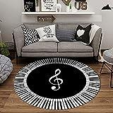 XIAOFEI Home Trommel Teppich, Schlagzeugteppich Schallschutzmatte, Verdickt rutschfeste Trommel Teppich, füR E-Drum-Kits Bass Drum Snare und Andere rutschfeste Teppiche Im Kernsatz