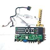 Für M101NWT2 R0/R1/R2/R3/R4 M101NWT4 R3/R0 DVB Digital 40-Pin Panel LVDS 1024600 HDMI VGA USB AV 3663 LCD Controller Board Kit (M101NWT2 R4)