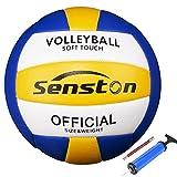 Senston Volleyball Wasserfest Beachvolleyball Weiche Berührung Beach Volleyball für Strand, Garten und Bad